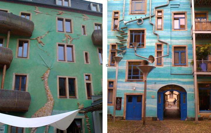 Dresden Kunst am Haus