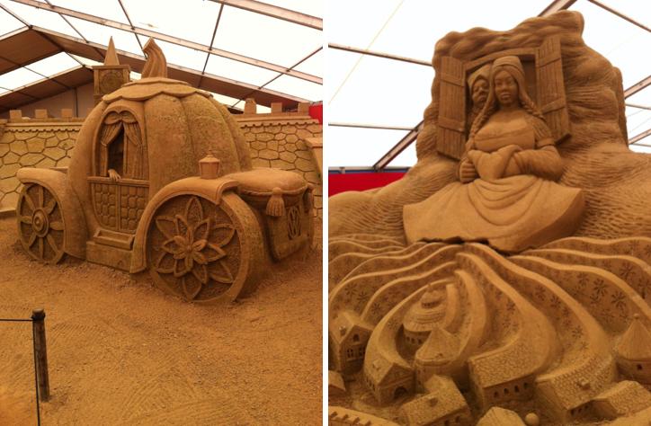 Kunst aus Sand Rügen