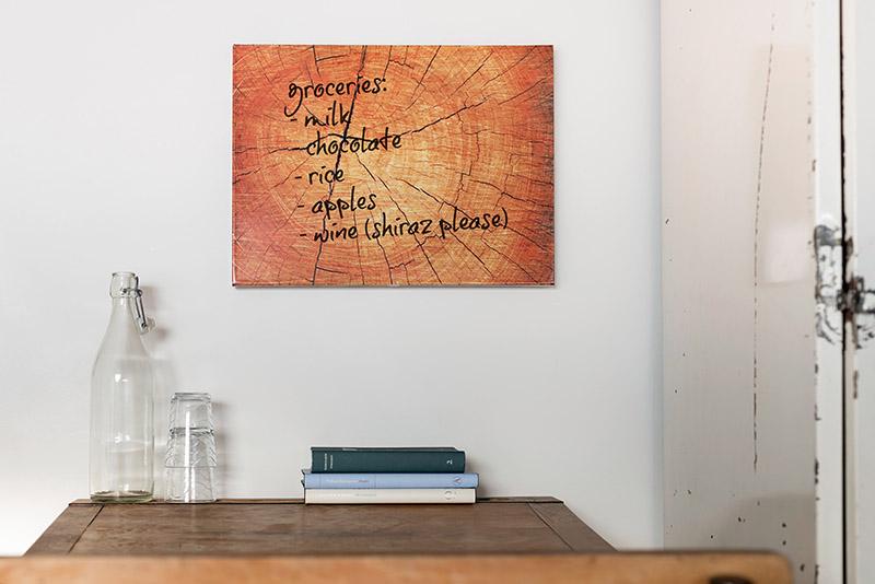 Whiteboard Treetrunk